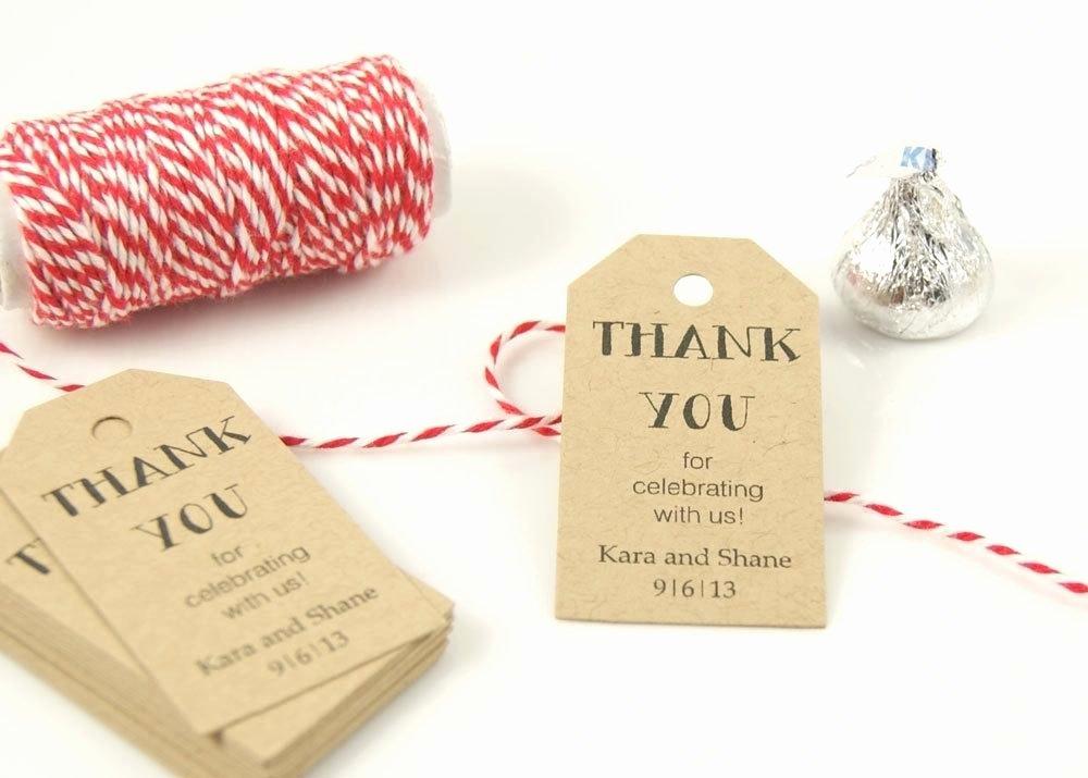 Wedding Favor Labels Template Fresh Wedding Hang Tag Custom Favor and Gift Sticker Labels