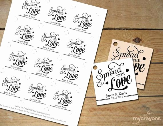 Wedding Favor Labels Template Inspirational Best 25 Wedding Favor Tags Ideas On Pinterest