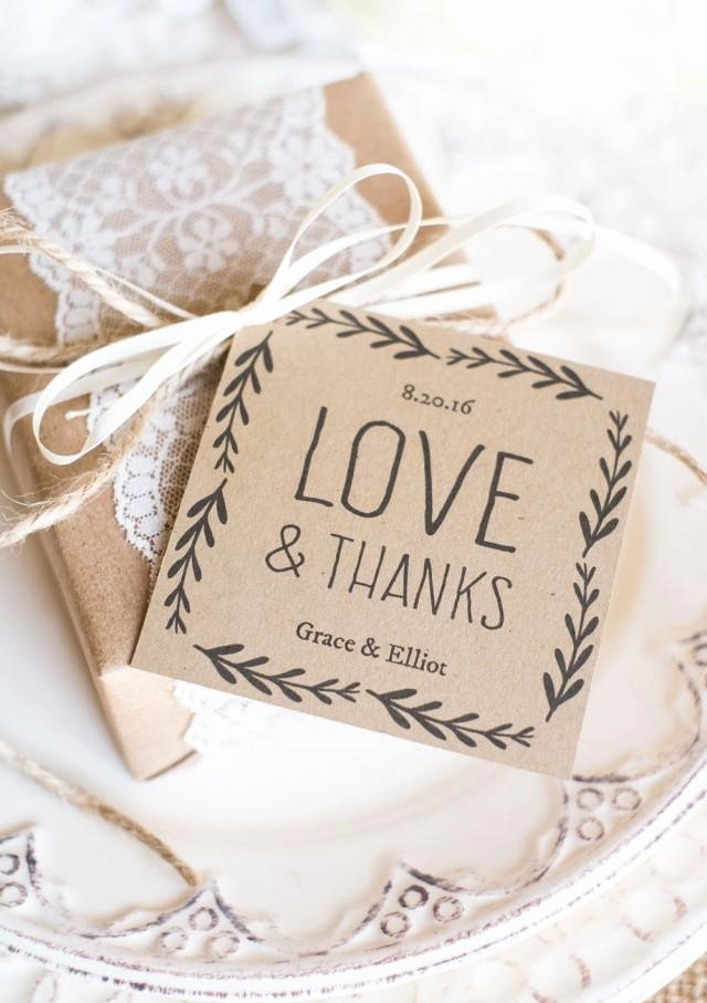 Wedding Favor Labels Template Lovely Rustic Wedding Favor Tags Printable Favor Tag Template
