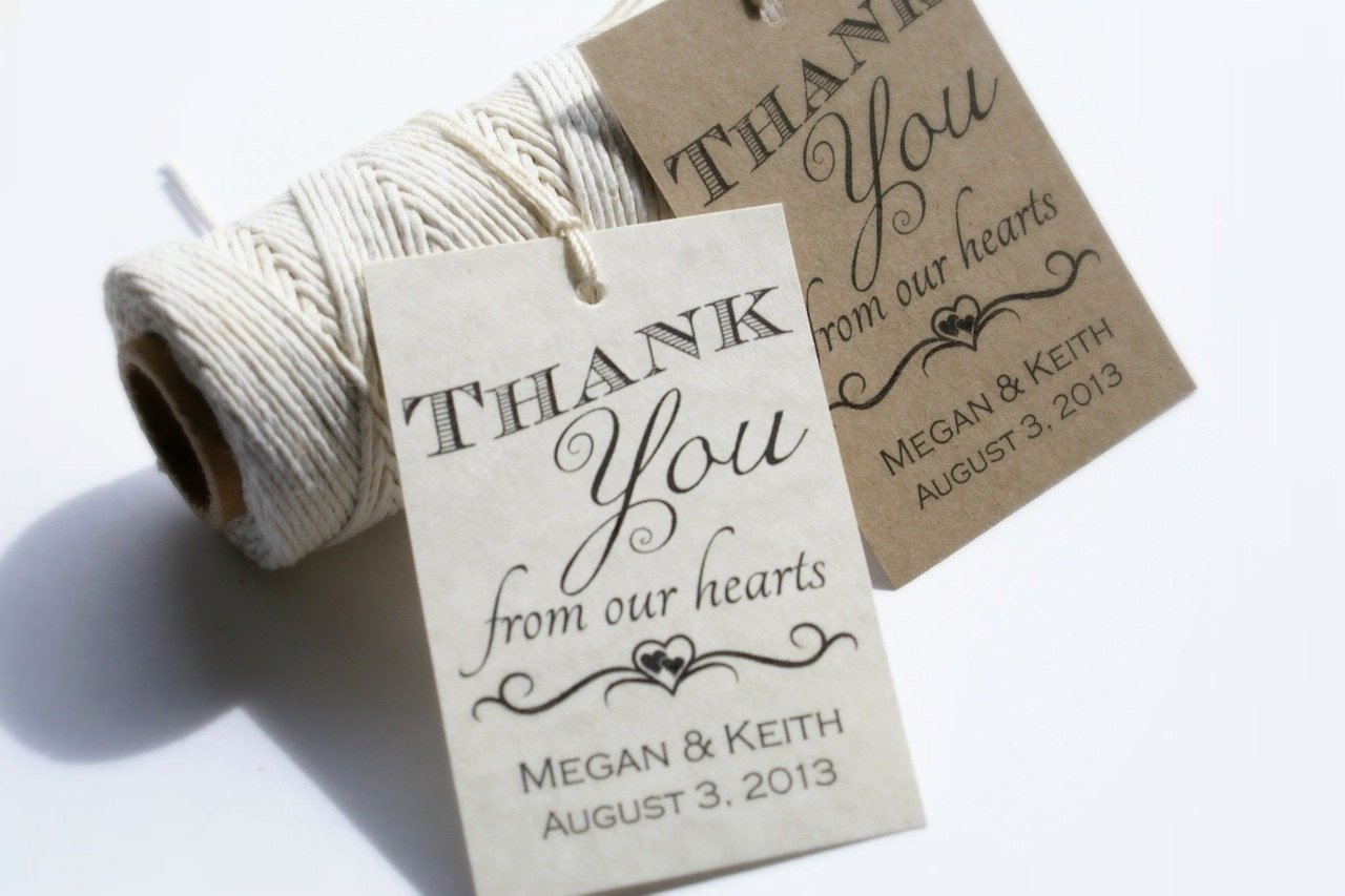 Wedding Favor Labels Template New Printable Wedding Favor Tags Custom Diy Thank by