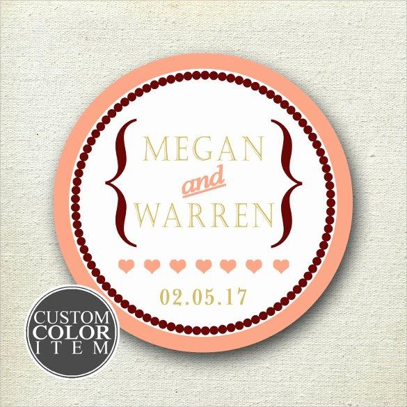 Wedding Favor Labels Template Unique 20 Wedding Labels Templates