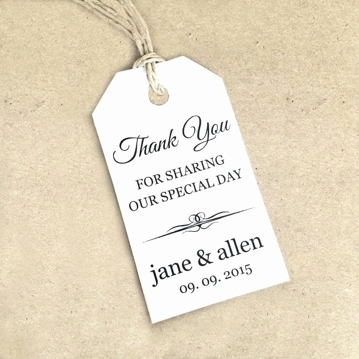 Wedding Favor Tag Template Best Of Printable Hang Tag Template for Word Wedding Favor Tags