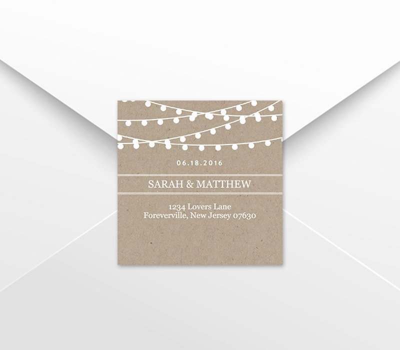 Wedding Favor Tag Template Elegant Wedding Favor Tag Template Return Address Labels Kraft