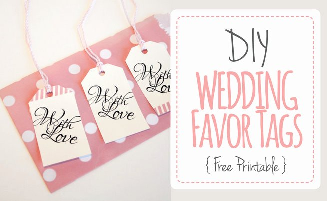 Wedding Favor Tag Template New Wedding Favor Tag Template Printable
