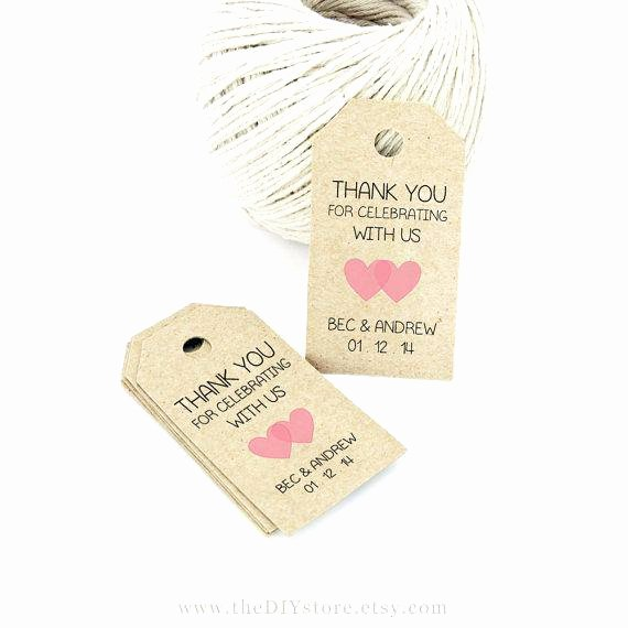 Wedding Favor Tags Template Beautiful Bridal Free Printable Wedding Gift Tags Shower – Template