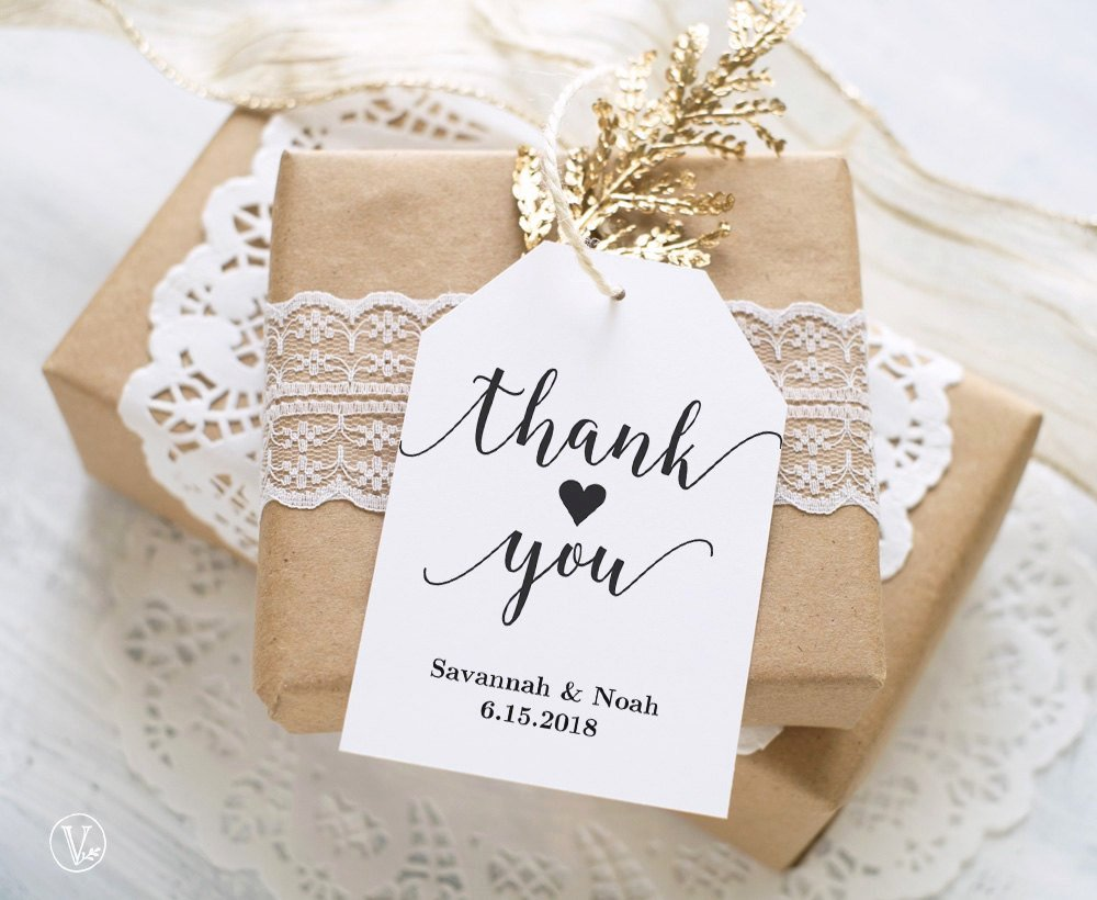 Wedding Favor Tags Template Best Of Favor Tags Printable Wedding Favor Tags Template Thank You