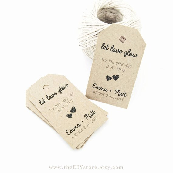 Wedding Favor Tags Template Luxury Items Similar to Favor Tag Template Medium Two Small