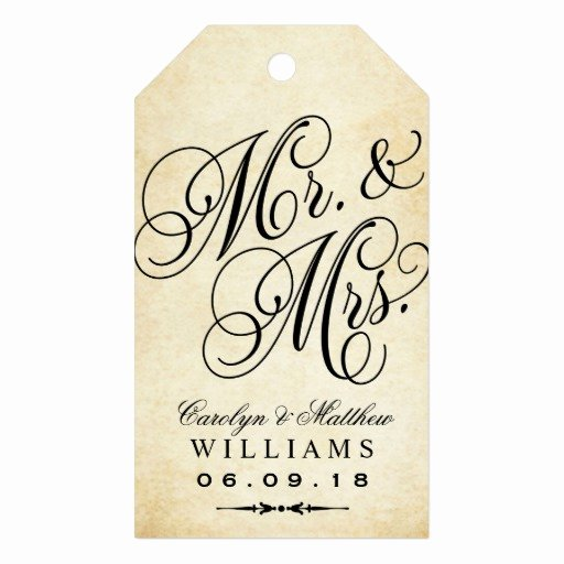 Wedding Favor Tags Template New Wedding Favor Tag