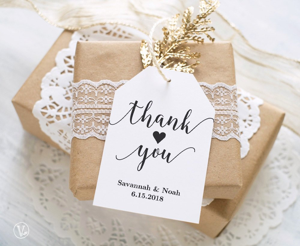 Wedding Favors Tags Template Lovely Favor Tags Printable Wedding Favor Tags Template Thank You