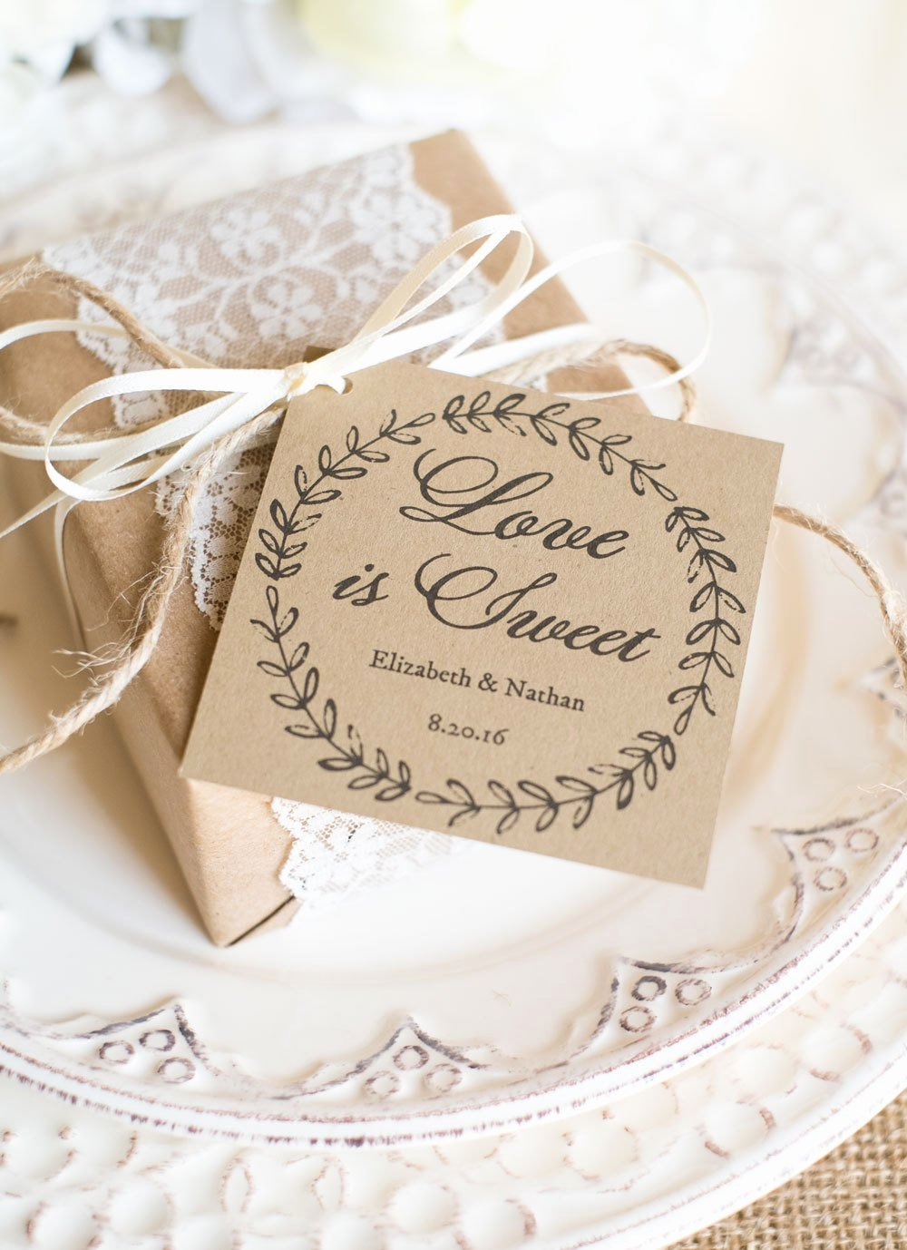 Wedding Favors Tags Template New Printable Wedding Favor Tags Printable Template Kraft Paper
