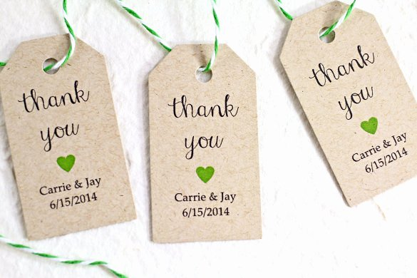 Wedding Favors Tags Template Unique 26 Favor Tag Templates Psd Ai