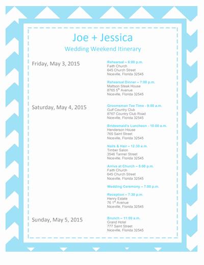 Wedding Itinerary Template Free Luxury Wedding Itinerary Template Free Download Edit Create