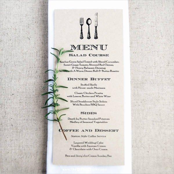 Wedding Menu Card Template Beautiful 10 Wedding Menu Cards Psd Eps Vector