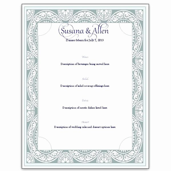 Wedding Menu Cards Template New Download A Free Wedding Menu Card Template Diy and Save