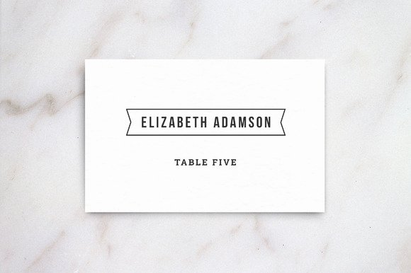Wedding Name Card Template Beautiful Wedding Table Place Card Template Card Templates On