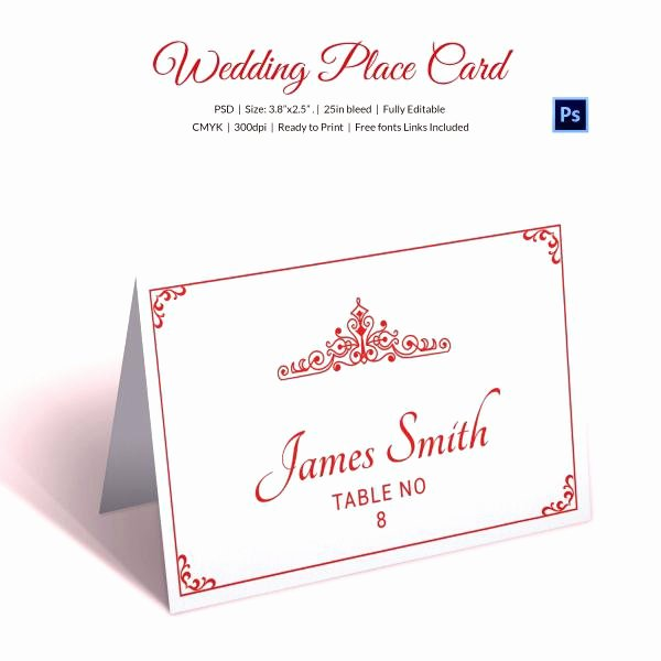 Wedding Name Card Template Lovely Free Wedding Place Card Template Word – Tangledbeard