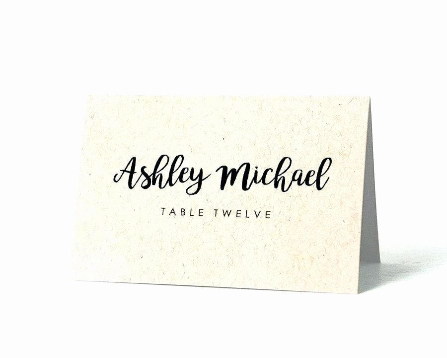 Wedding Name Cards Template Inspirational Wedding Template Free Table Name Templates Seating Poster