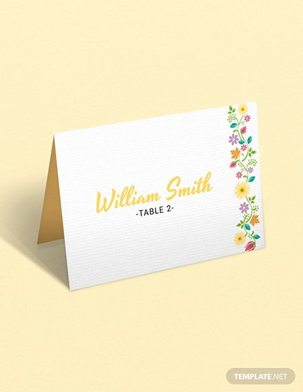 Wedding Name Cards Template Lovely Free Wedding Graphic Design Name Card Template Download