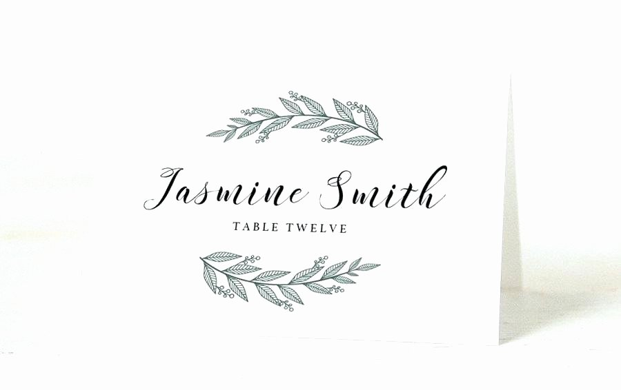 Wedding Name Cards Template Lovely Name Place Cards Template Editable Wedding Place Cards