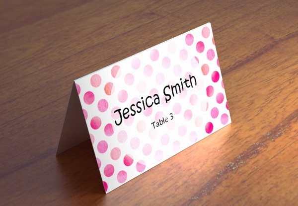 Wedding Name Cards Template New 15 Name Card Templates Free Psd Eps Ai format