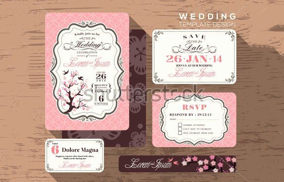 Wedding Place Card Template Fresh 24 Wedding Place Card Templates Psd Ai