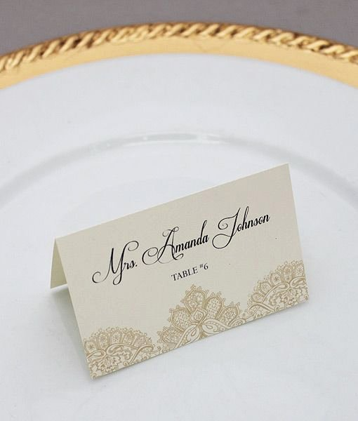 Wedding Place Card Template Inspirational 15 Must See Place Card Template Pins