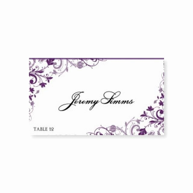 Wedding Place Card Template Unique Instant Download Wedding Place Card Template Chic