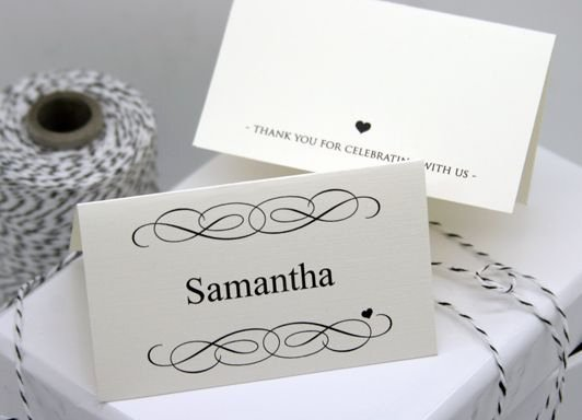 Wedding Place Cards Template Awesome Free Diy Printable Place Card Template and Tutorial