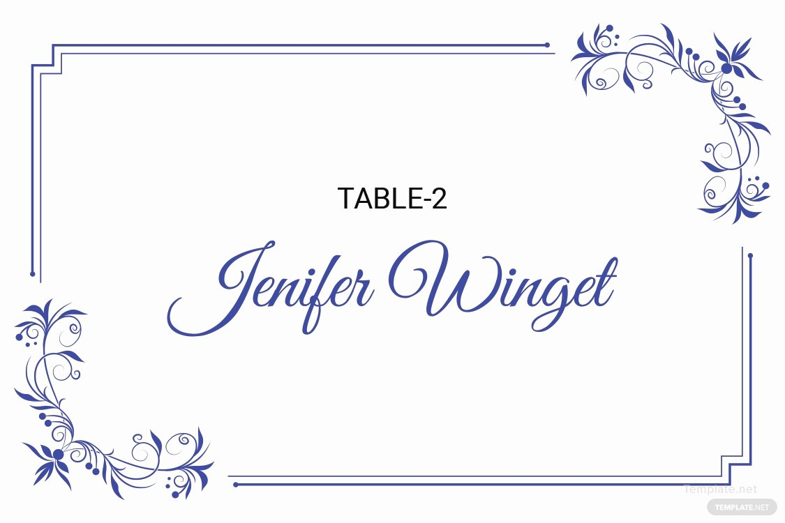 Wedding Place Cards Template Best Of Free Delicate Lace Place Wedding Place Card Template In