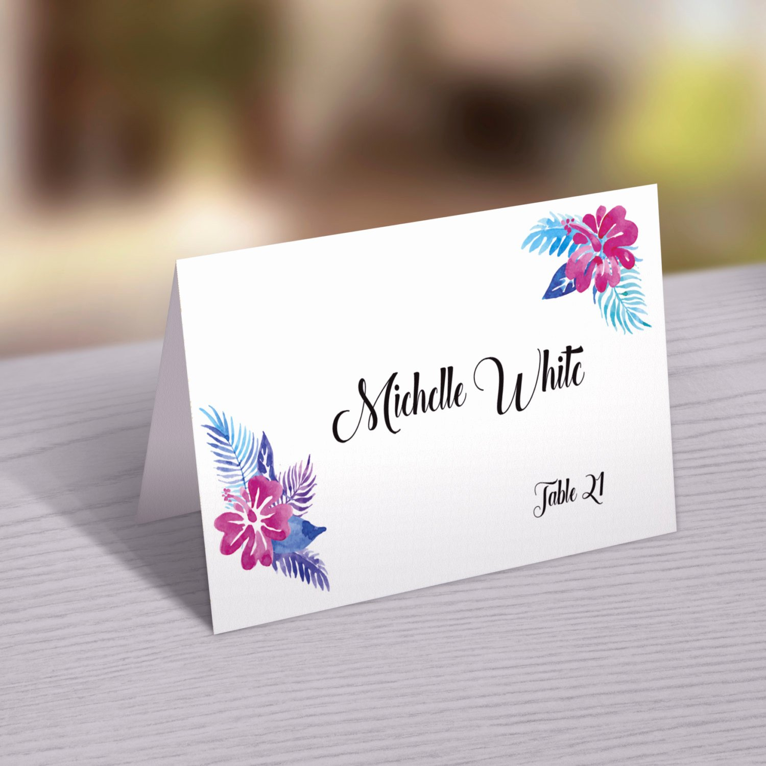 Wedding Place Cards Template Best Of Wedding Place Card Template Printable Wedding Place Cards