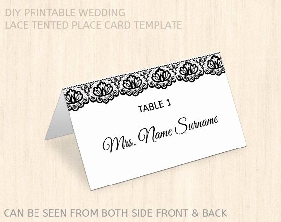 Wedding Place Cards Template Inspirational Best 25 Printable Wedding Place Cards Ideas On Pinterest
