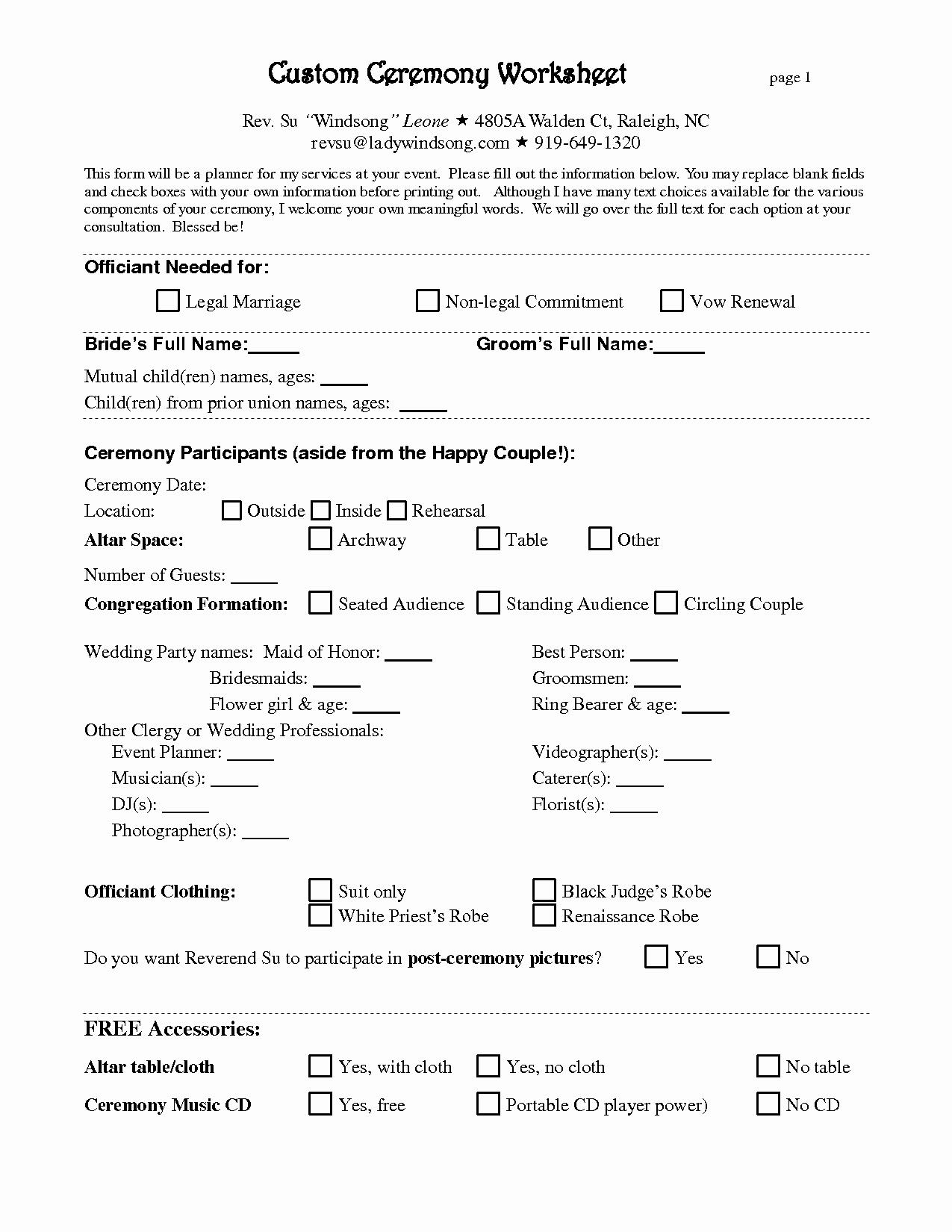 Wedding Planner Contract Template Elegant Free Wedding Planner Contract Template