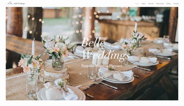 Wedding Planner Website Template Best Of Weddings & Celebrations Website Templates events