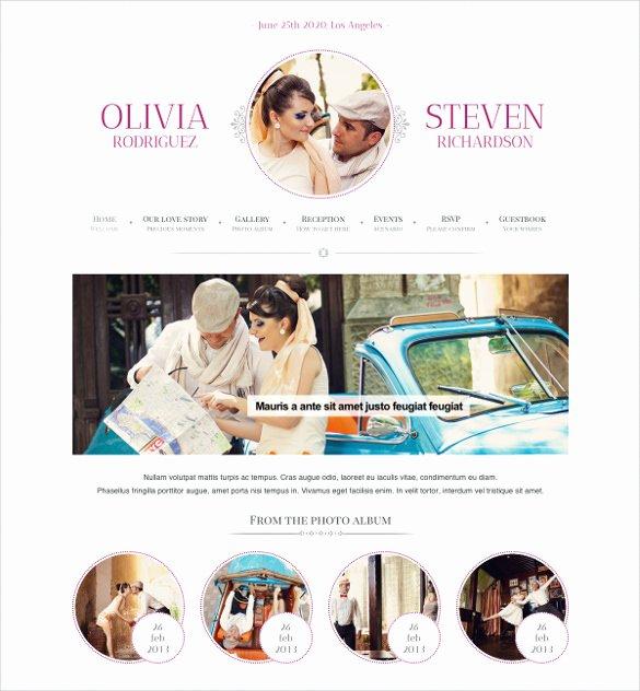 Wedding Planner Website Template Elegant 27 Google Website themes & Templates