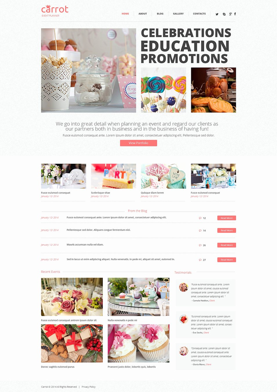 Wedding Planner Website Template Fresh 33 event Planning Website themes & Templates