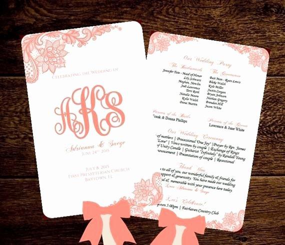 Wedding Program Fans Template Elegant Wedding Fan Program Printable Template by Pixelromance4ever