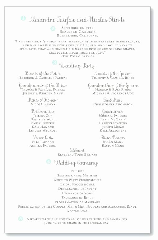 Wedding Reception Program Template Awesome Church Program Template Free Catholic Wedding Idea Clean