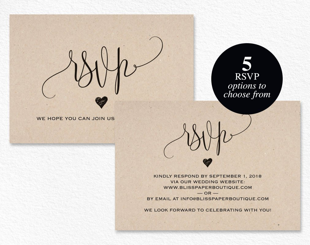 Wedding Rsvp Card Template Awesome Rsvp Postcard Rsvp Template Wedding Rsvp Cards Wedding Rsvp