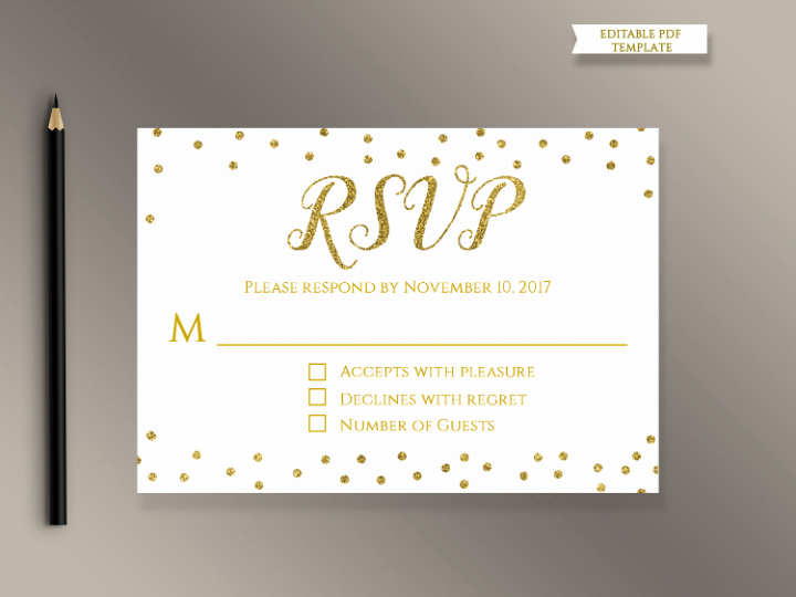 Wedding Rsvp Cards Template Best Of 18 Wedding Rsvp Card Templates Editable Psd Ai Eps