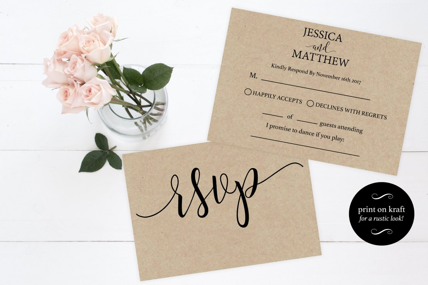 Wedding Rsvp Cards Template Elegant Rsvp Wedding Template Wedding Rsvp Cards Rsvp Online