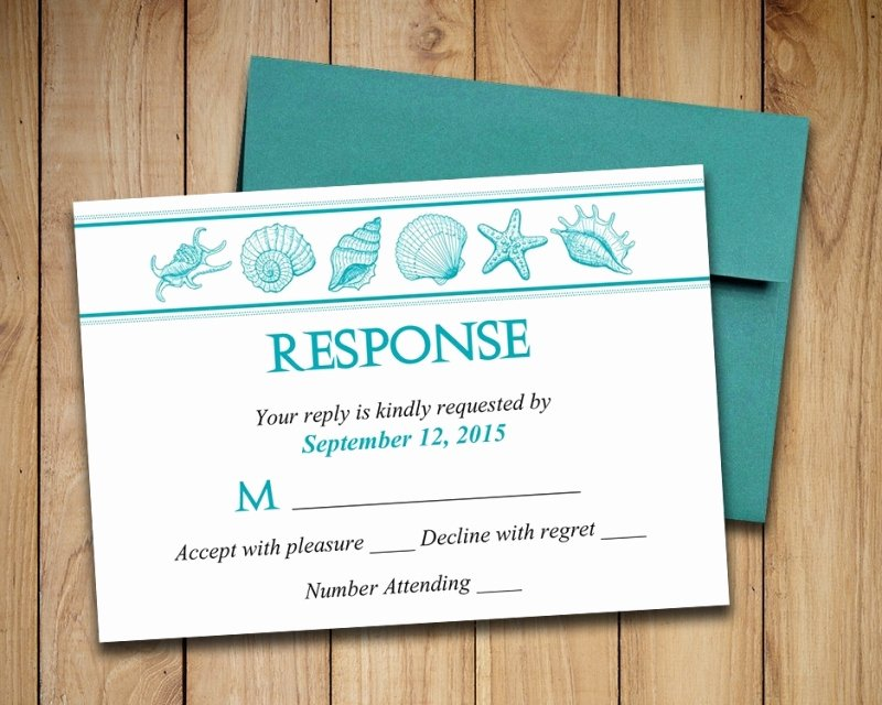 Wedding Rsvp Cards Template Fresh Adorable Diy Wedding Invitations and Rsvp Cards Wedding