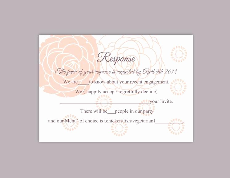 Wedding Rsvp Cards Template Fresh Fice Potluck Invitation Wording Eyerunforpob