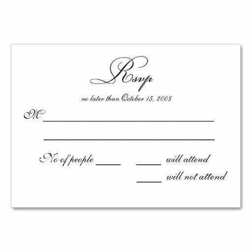 Wedding Rsvp Cards Template Inspirational Free Printable Wedding Rsvp Card Templates