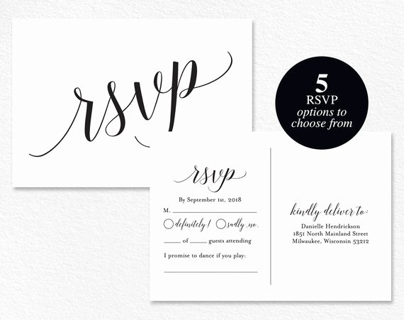 Wedding Rsvp Cards Template Unique Rsvp Cards Rsvp Postcard Rsvp Template Wedding Rsvp Cards