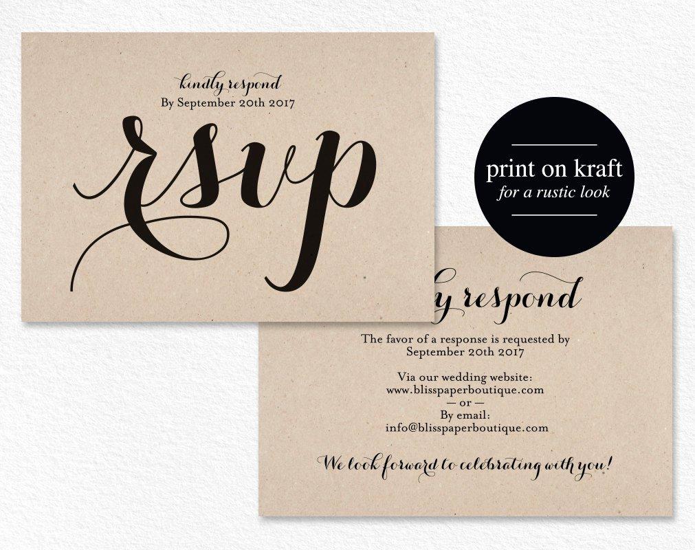 Wedding Rsvp Postcards Template Fresh Rsvp Postcard Rsvp Template Wedding Rsvp Cards Wedding Rsvp