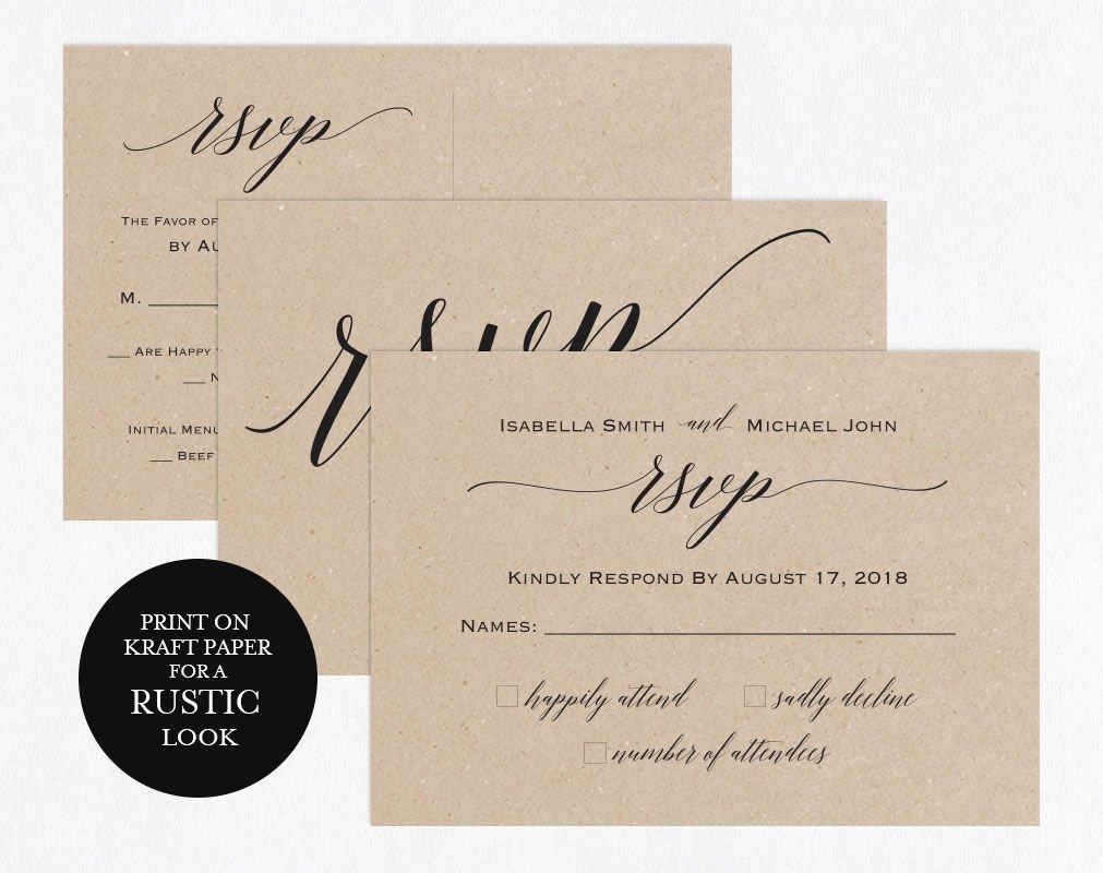 Wedding Rsvp Postcards Template Lovely Rsvp Postcards Templates Wedding Rsvp Cards Rsvp Online