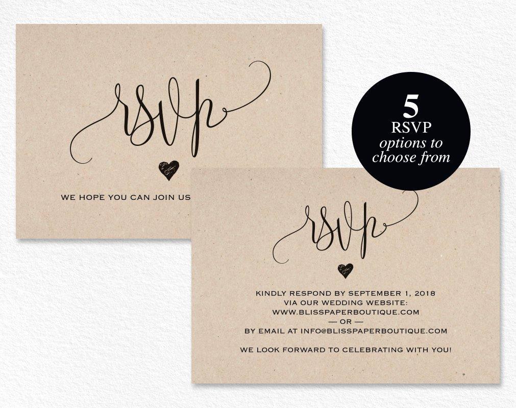Wedding Rsvp Postcards Template Luxury Rsvp Postcard Rsvp Template Wedding Rsvp Cards Wedding Rsvp
