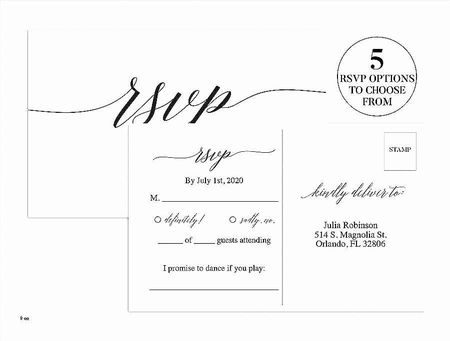 Wedding Rsvp Postcards Template New Wedding Rsvp Postcard Template Free Free Wedding Rsvp