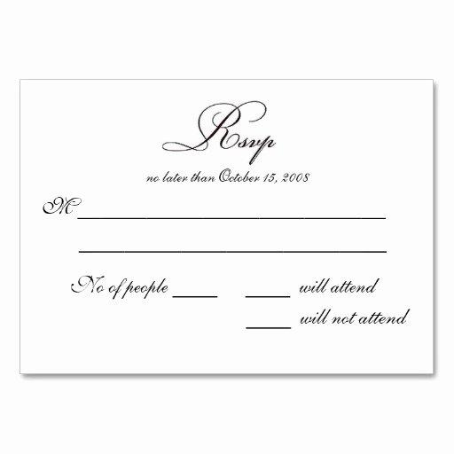 Wedding Rsvp Postcards Template Unique 7 Best Of Rsvp Postcard Template Wedding Rsvp