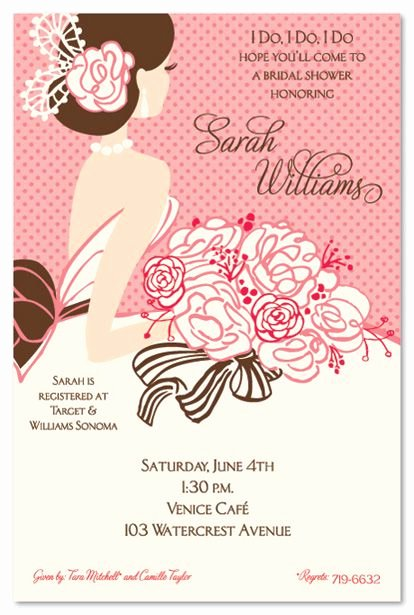 Wedding Shower Invitations Template Elegant Bridal Shower Invitations Bridal Shower Invitations